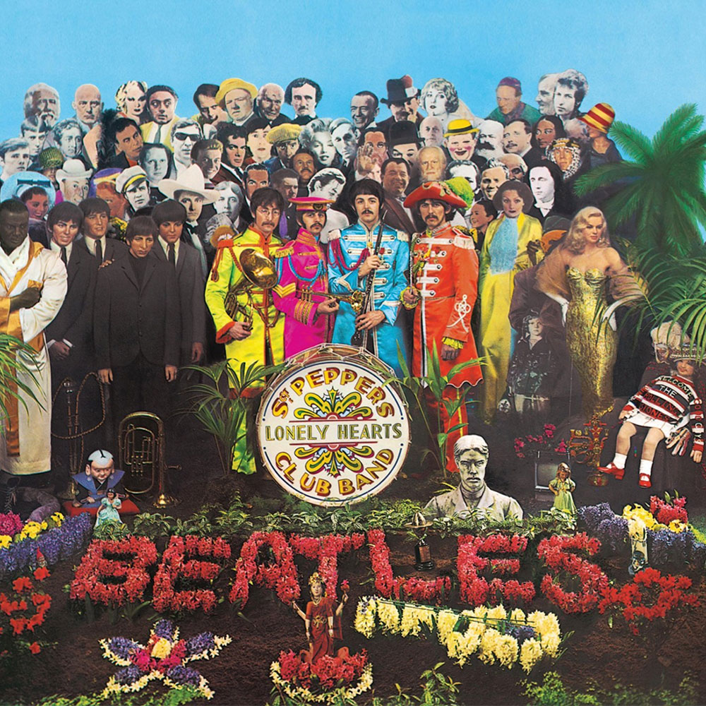 Beatles Sgt Pepers Lonely Hearts Club Band - Music Connection Record Store, San Antonio, Texas