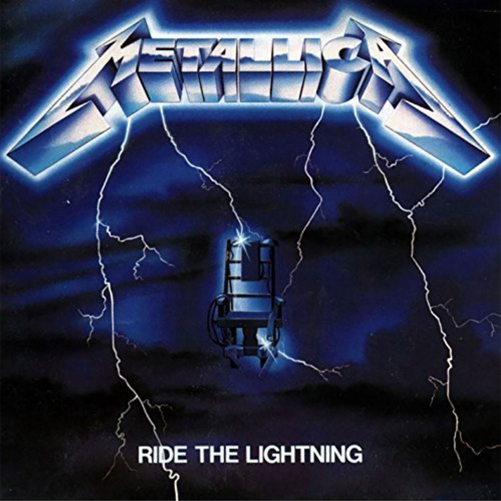 Metallica Ride The Lightning - Music Connection Record Store, San Antonio, Texas
