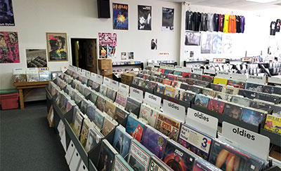 Music Connection Record Store, San Antonio, Texas